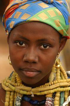 Krobo girl in Ghana