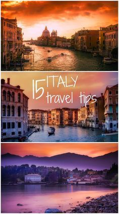 All you need to know be you travel to the wonderful European nation of Italy.