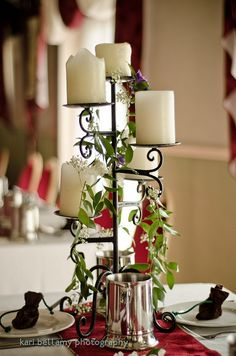 Sort of what we're going for with centerpieces, just smaller.