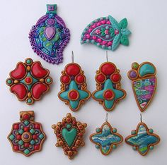 polymer clay jewelry | by WanderingLydia