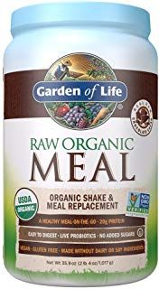 Raw Organic Meal From Garden Of Life Organic Shake Meal