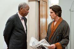 Morgan Freeman is Lucius Fox in #TDKR