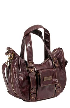 Ju-Ju-Be 'Legacy' Earth Leather™ Faux Leather Diaper Bag available at #Nordstrom Love this.