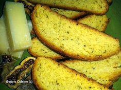 Betty's Cuisine: Παξιμάδια λαδιού με ρίγανη
