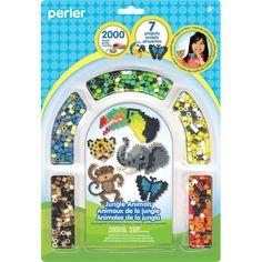 Perler Jungle Animals Activity Kit from Blain's Farm and Fleet