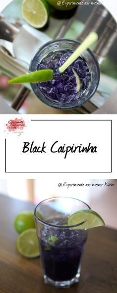 Black Caipirinha   Getränke   Cocktail   Alkohol