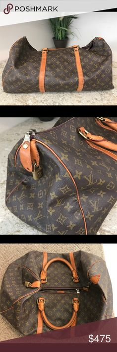 Vintage LV Everything is in- tuck no rips no holes ... good condition considering that it's been with me for long time🙂 Bags Travel Bags