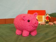 "Free pattern for ""Crochet Pig"" by One Man Crochet! thanks so xox"