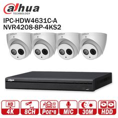 Dahua Security CCTV System 6MP IP camera IPC-HDW4631C-A & 8POE 4K NVR NVR4208-8P-4KS2 Surveillance P2P Security System  Price: 641.00 & FREE Shipping  #tech|#electronics|#gadgets|#lifestyle Admin Password, Fixed Lens, Surveillance System, Ip Camera, Electronics Gadgets, Tech Gadgets, Free Shipping, System Camera, Lifestyle