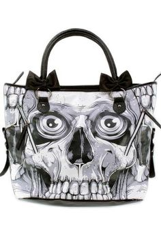 Iron Fist Bonebreaker Handbag  creepy but for some reason I like it.  Maybe it's the composition?