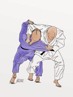 Osoto-otoshi Judo Technique