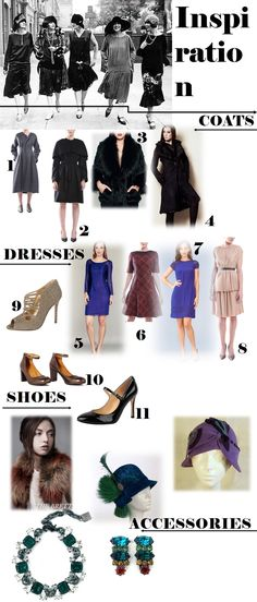 What to Wear to a Great Gatsby Party or Wedding: The Winter Edition - Chicagoings.com