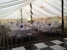 Marquee wedding at Sedgeford Hall #country #marquee