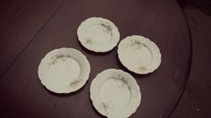 Vintage B&B PLATE. Dessert Plates. Bridal Shower, Tea Party, Floral China