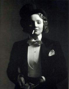 Marlene Dietrich - classic Top Hat and Tails