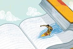 HUGE list of summer reading recommendations, via the LA Times. SWEET! Now we just need the summer off to enjoy them all!!