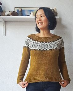 Ravelry: Silver Forest pattern by Jennifer Steingass Brooklyn Tweed, Finger Weights, Sweater Design, Knit Patterns, Sweater Patterns, Free Pattern, Tunic Tops, Silver, Clothes