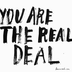 Your are.