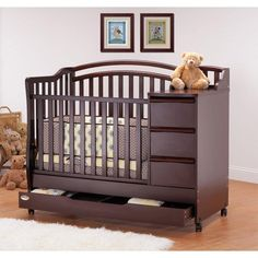 Mini Crib Changer Combo Orbelle Mini Crib N Bed With