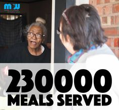 We are on pace to deliver 1,000,000 meals by 2020  #mealsonwheels #tulsa #charity #love #service #seniors