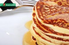 Is anyone else thinking breakfast for dinner? Homemade Pancakes, Breakfast For Dinner, Ricotta, Good Food, Food And Drink, Healthy Recipes, Cooking, Sweet, Cookware
