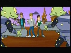 Big Time Rush - Big Time Cartoon promo