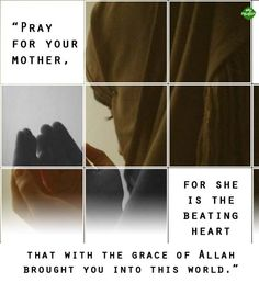 Pray for your mother