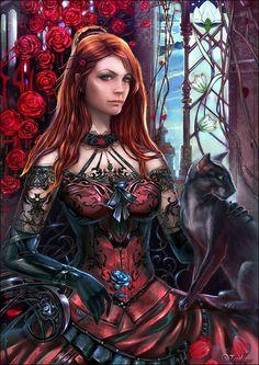 Fantasy Portraits by Venlian