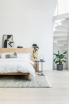 Minimal bedding with a conscious: Q&A with new bedding brand Undercover bedroom design modern head boards minimalist bedroom Minimalist bedding with a conscience: Q&A with Undercover Bedroom Sets, Home Decor Bedroom, Modern Bedroom, Bedroom Furniture, Bedding Sets, Coral Bedding, Bedroom Romantic, Queen Bedding, Kitchen Furniture