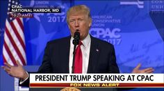 """A few days ago, I called the fake news the enemy of the people, and they are.""  At #CPAC2017, President Donald J. Trump blasted the news media and said reporters ""shouldn't be allowed to use sources unless they use somebody's name."" http://fxn.ws/2lDlAe5"