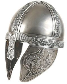 historically accurate viking helmet (real viking helmets do not have horns!)