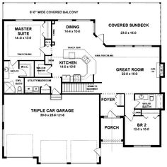 1000 images about house plans 1500 2000 sq ft on for 1500 sq ft ranch house plans with garage