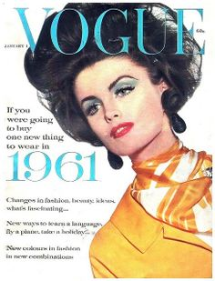 Dorothea McGowan Vogue January 1 1961