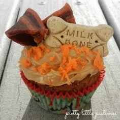 Happy Birthday pupcakes! #homemadedogtreats