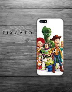 Woody Buzz Lightyear And Friends   Toy Story 02  Iphone by PiXCATO, $10.99