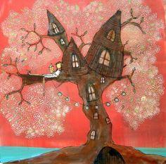 By Johanna Wright. tree house