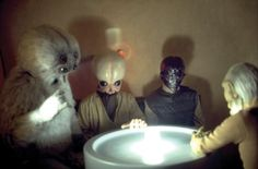 Aliens in the Mos Eisley cantina from Star Wars