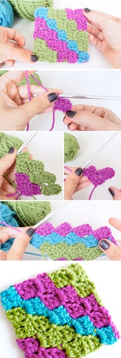 sc [sc We are going to learn how to crochet a wonderful corner to corner blanket. The tutorial we found online, that is pretty popular, is going to guide us through all the necessary steps and in the… Continue Reading → C2c Crochet, Learn To Crochet, Crochet Crafts, Yarn Crafts, Crochet Stitches, Crochet Baby, Crochet Projects, Free Crochet, Crochet Tutorials