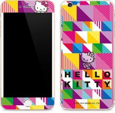 The Sanrio Hello Kitty Color Design Skin offers adorable timeless iPhone 6/6s Plus protection without the bulk of a case. Now your iPhone 6/6s Plus can be as cute as the rest of your outfit with a little help from your friend, Hello Kitty. Our Sanrio Hell