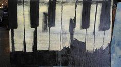 Contemporary art modern artwork original art art on sheet