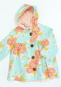 Mackenzie Gathered Jacket (3Y ~ 7Y) - New Pattern Sale 50% Off