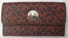 fa22e0ce Tommy Hilfiger Women's Wallet Clutch Purse Checkbook Choice of Colors New |  eBay Hermes Wallet,