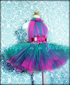 Hot Pink & Teal tutu dress | Flickr - Photo Sharing!