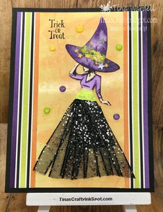2018 Holiday Catalog Archives ⋆ Tina Wardell~Stampin' Up! Halloween Coffin, Up Halloween, Halloween Cards, Fall Cards, Holiday Cards, Thanksgiving Cards, Prima Doll Stamps, Beautiful Witch, Scrapbook Cards