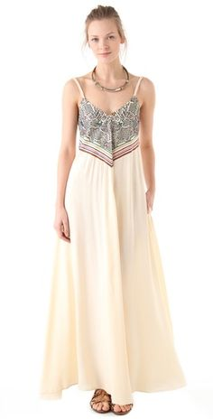 Mara Hoffman Embroidered Maxi Dress | Amazon.com's SHOPBOP SAVE 25% use Code:GOBIG14