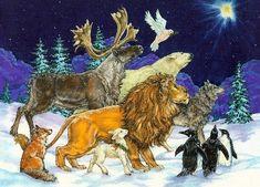 Зимние иллюстрации Донны Рэйс (Donna Race). Обсуждение на LiveInternet - Российский Сервис Онлайн-Дневников