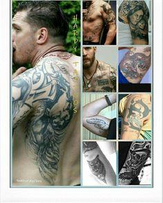 Tom Hardy body tatooos
