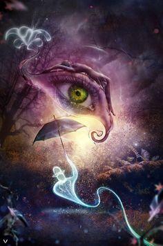 """Eye of Infinity"" by ianvicknair.deviantart.com"