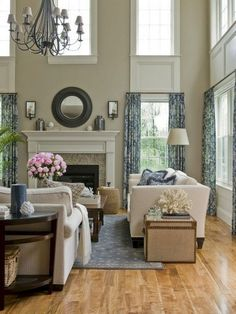 30 French Country Living Room Ideas That Make You Go Sacre Bleu Living Room Decor Country, French Country Living Room, My Living Room, Living Room Furniture, Country Kitchen, French Cottage, Living Area, Modern French Country, French Country Decorating
