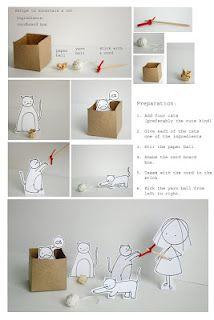cute cute way to entertain a cat!!!!  by cara carmina